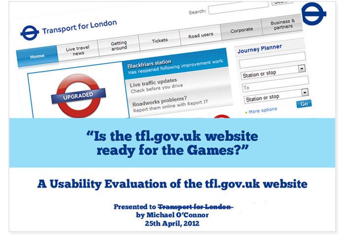 TFL Usability Study